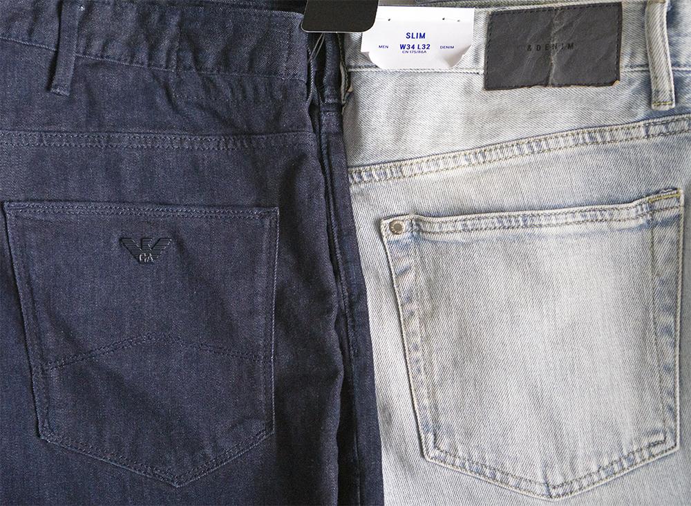 сравнение джинс