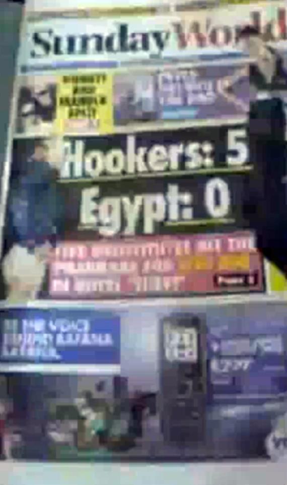 SundayWorld front Page
