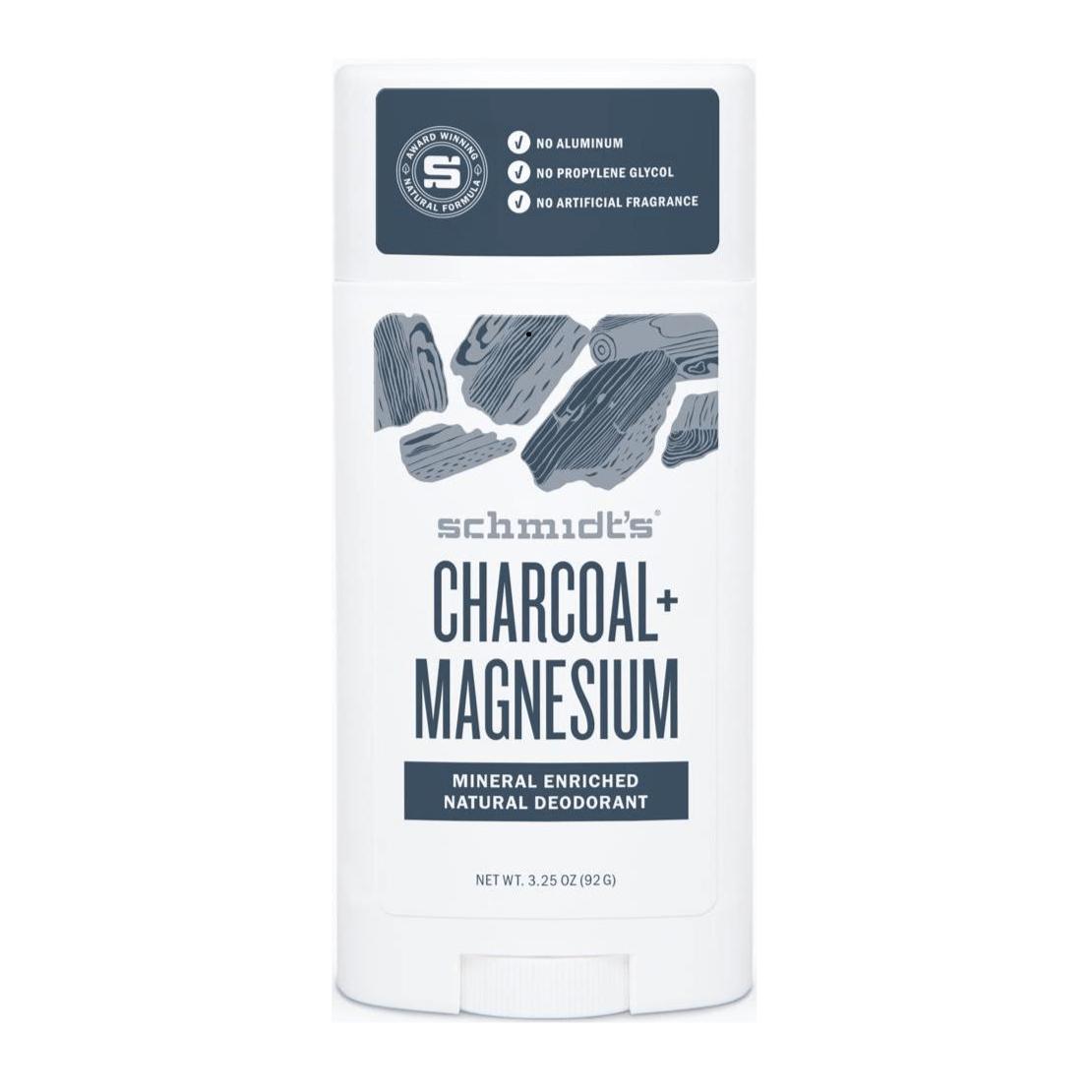 SCHMIDT'S Charcoal Magnesium Dezodorant naturalny w sztyfcie