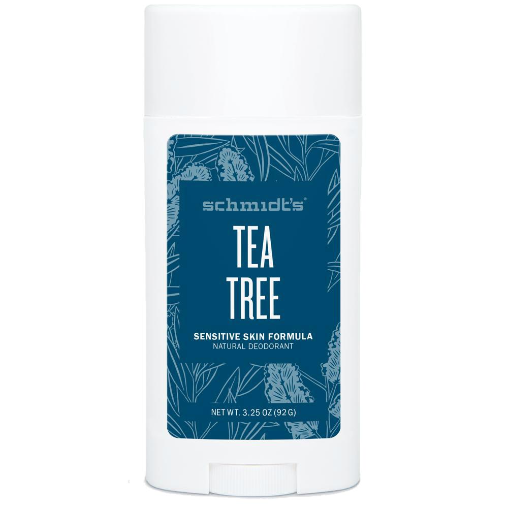 SCHMIDT'S Tea Tree Dezodorant dla skóry wrażliwej | SoBio Beauty Boutique