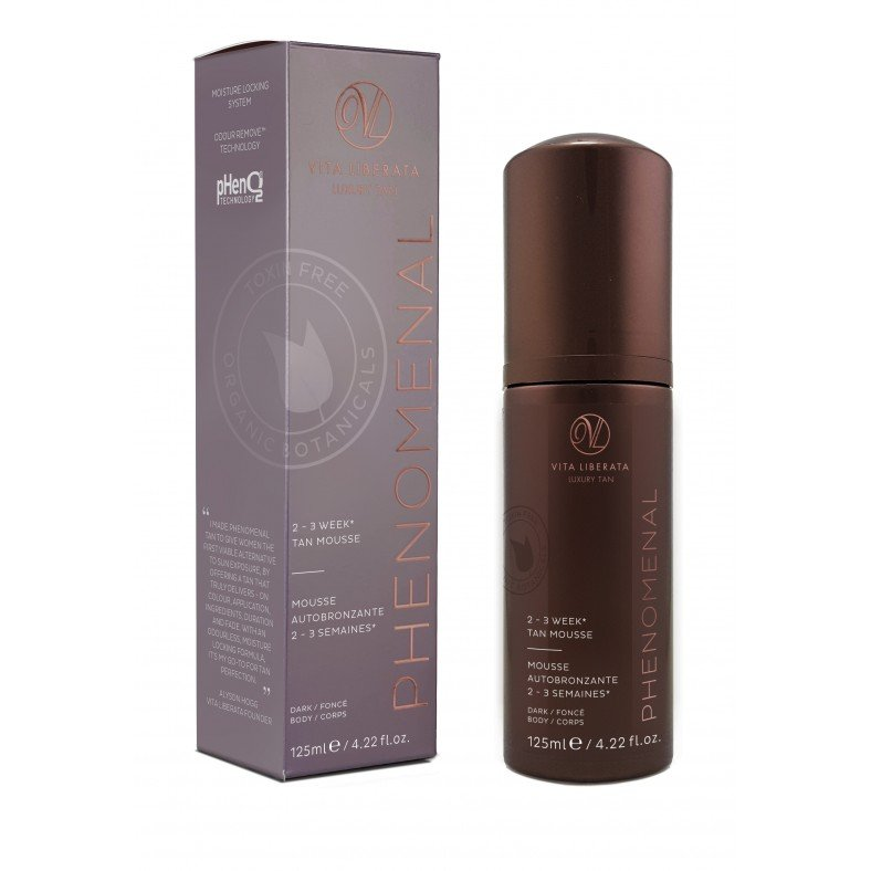 pHenomenal 2-3 tan week mousse dark
