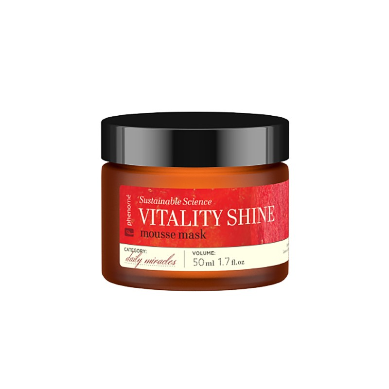 PHENOMÉ VITALITY SHINE mousse mask