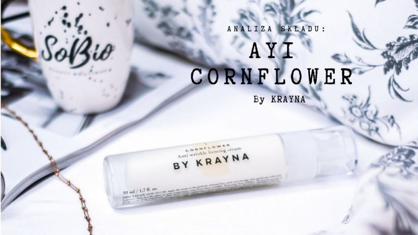 Analiza składu – AY1 CORNFLOWER (CHABER) by KRAYNA | SoBio Beauty Boutique