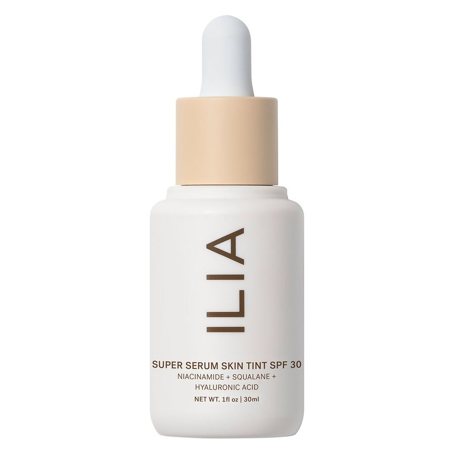 ILIA BEAUTY Super Serum Skin Tint SPF30 | SoBio Beauty Boutique
