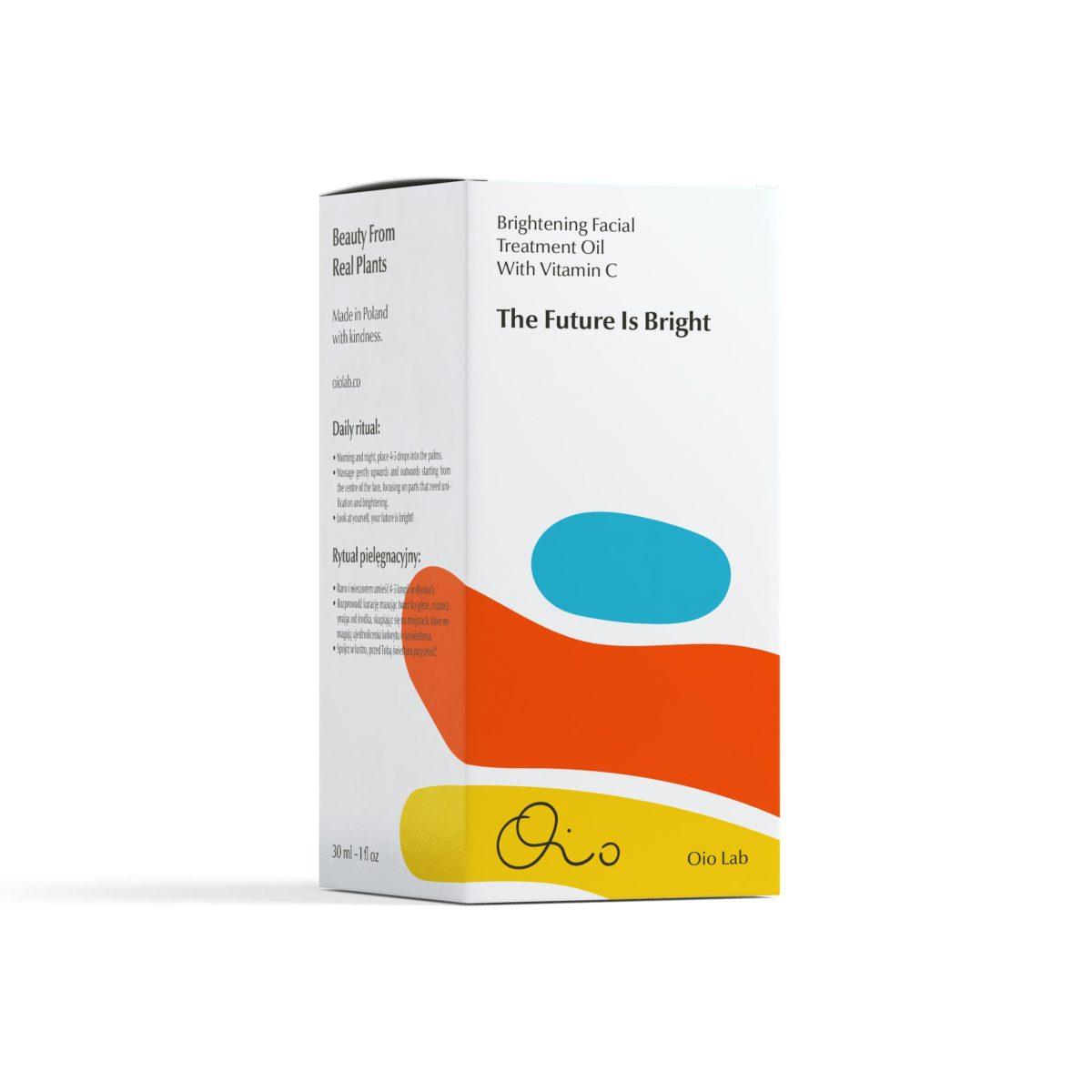 OIO LAB The Future Is Bright Kuracja Rozjaśniająca 3 | SoBio Beauty boutique | Cruelty-Free concept store