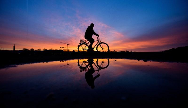 Велосипед небо
