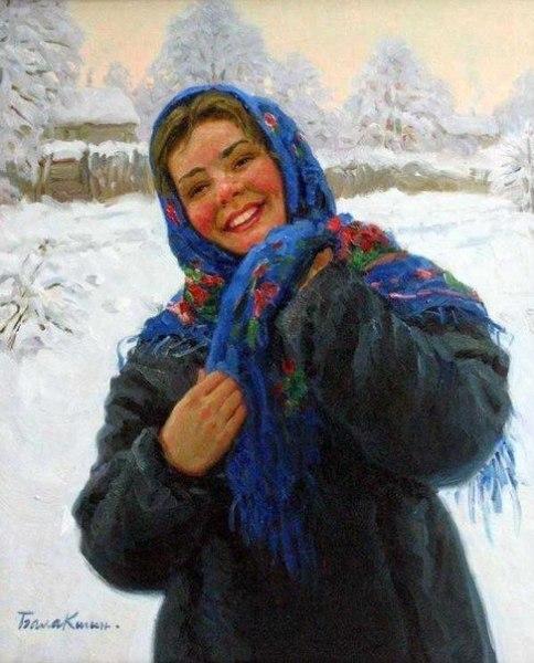 Художник Евгений Балакшин