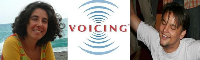 тренинг по открытию природного голоса по запатентованному методу VOICING.