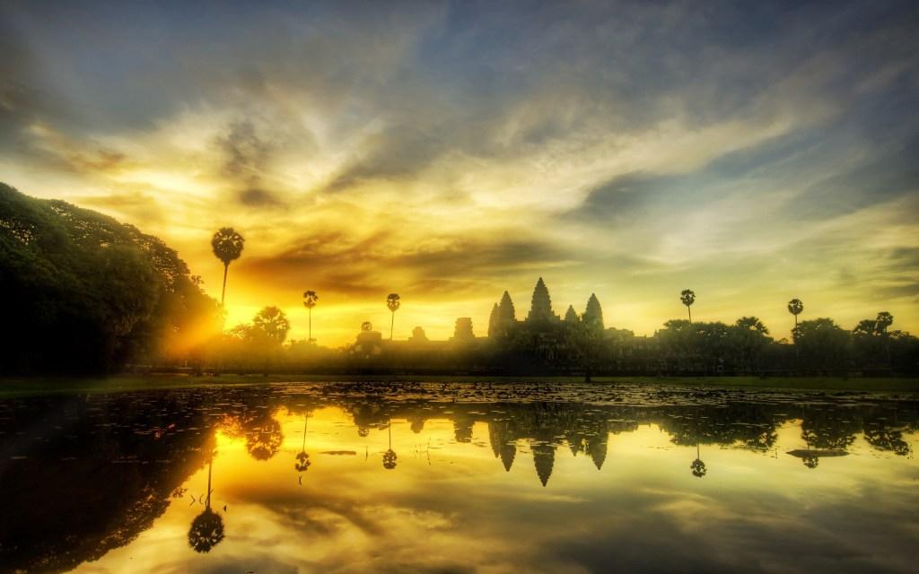Angkor Wat Cambodia Wallpaper 2560X1600