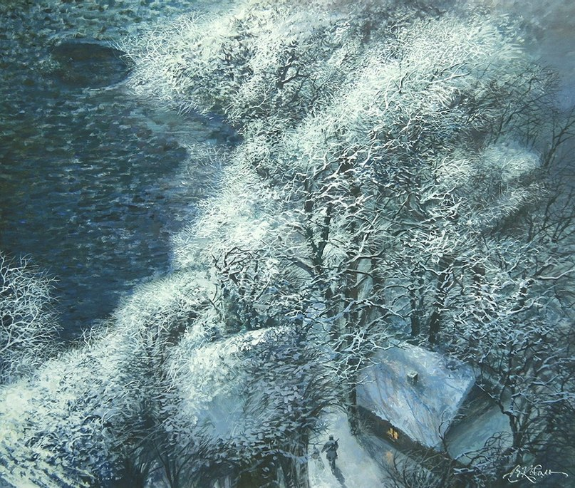 перый день зимы