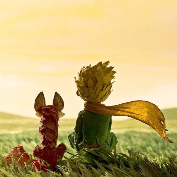 """Кадр из мультфильма """"Маленький принц"""" (2015)"""