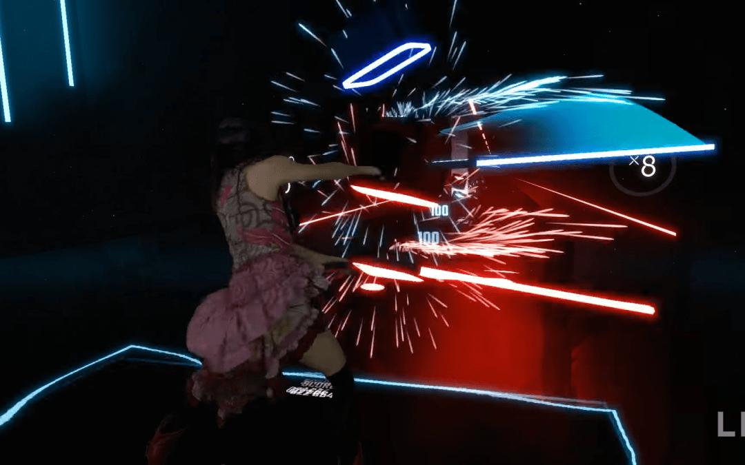 Как сделать посетителя клуба виртуальной реальности настоящим джедаем с помощью Beat Saber