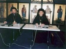 Митр. Хризостом Эфесский, митр. Дамаскин Швейцарский. 3-е Предсоборное Совещание. Шамбези, 1986 г.