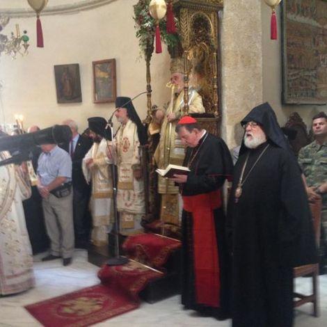 Пятидесятница. Митр. Иоанн (Зизиулас), еп. Игнатий (Мидич), кардинал Курт Кох.