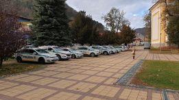 Policajné autá, polícia, Tisovec