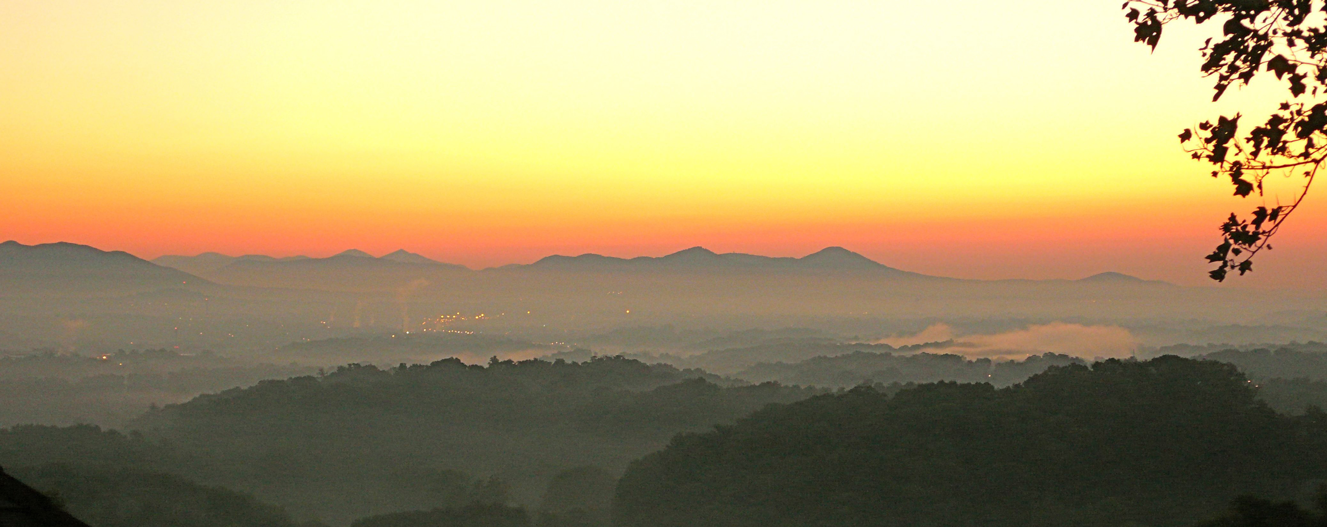 Roanoke Valley Before Sunrise