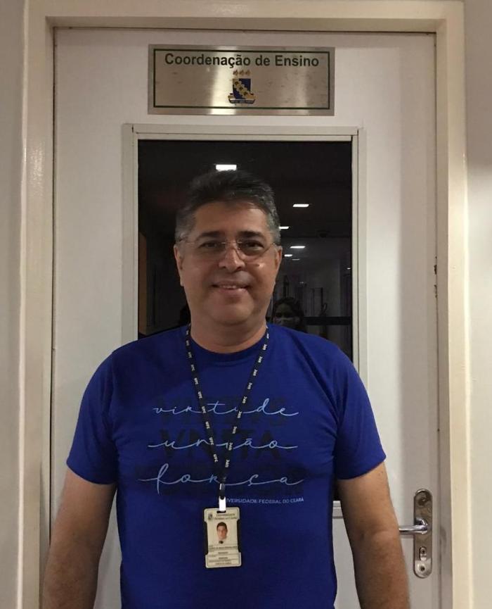 Foto do Professor Doutor Vicente Pinto