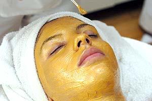 Peeling e Máscara de Ouro