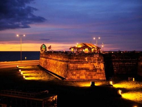 El Baluarte de Santo Domingo en Cartagena de Indias