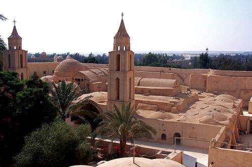 Monasterios coptos Wadi Natrum