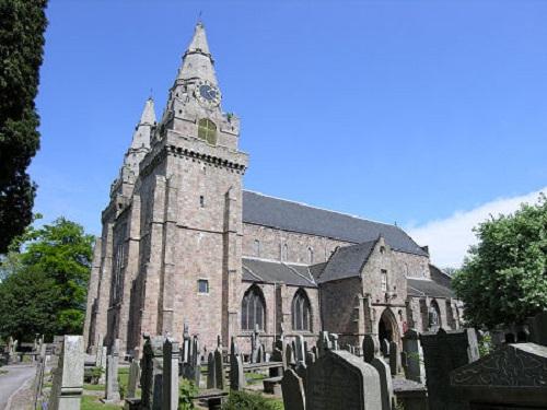 Pasear por la Catedral de San Machar en Aberdeen
