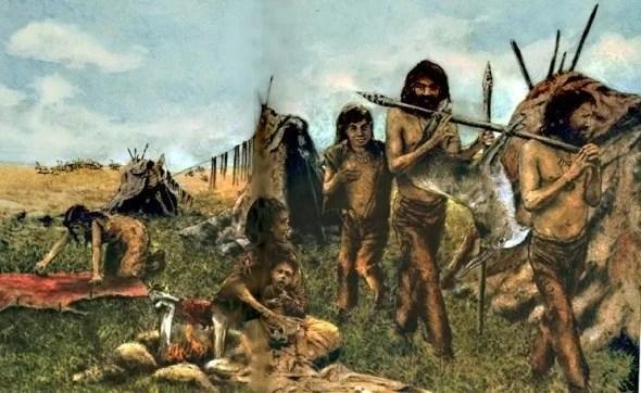 Prehistoria Cmo vivan los cazadores y recolectores del Paleoltico  SobreHistoriacom