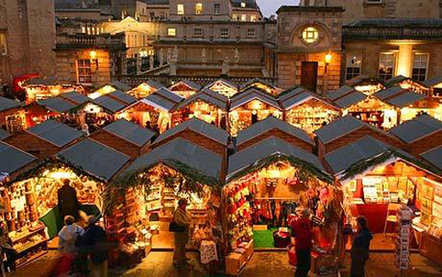 Resultado de imagen para Bath, Inglaterra en navidad