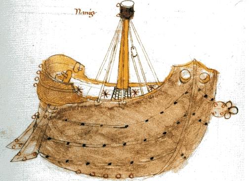 Argos, la primera nave en el mar