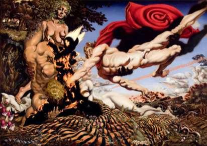 Apolo rescata a Asclepio