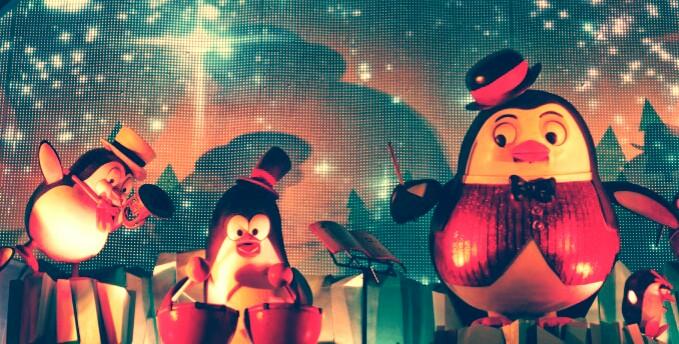 Una orquesta de pingüinos se hace con el Cortylandia 2014 (1/2)
