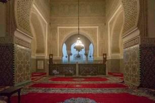 Resultado de imagen de Mausoleo de Mulay Ismaíl