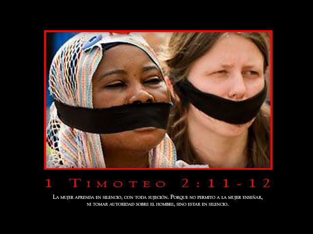 1 Timoteo 2:11-12