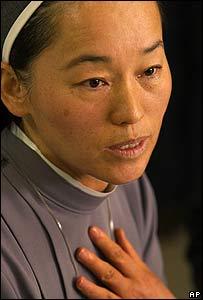 La madre superior Margie Cheong