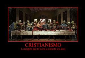 El Cristianismo invita a comerte a tu dios