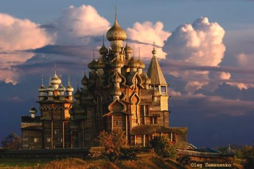 El Pogost de Kizhi, en Rusia
