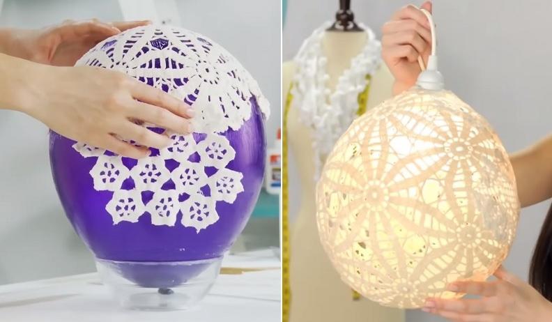 Lampe A Fabriquer Soi Meme 10 Lampes Originales Fabriquer