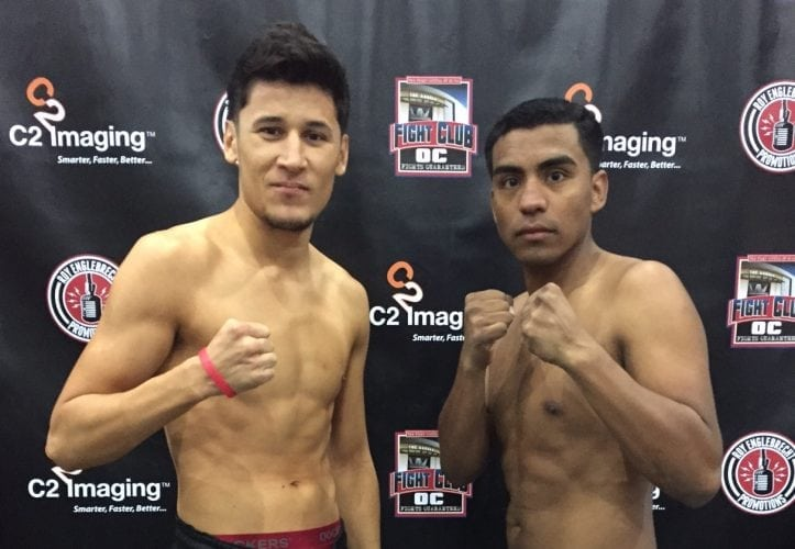Weigh-In Photos And Weights For Dec 8th