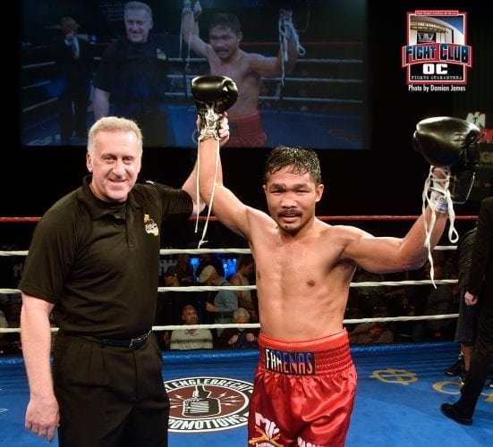 Farenas Delivers With KO Stoppage in 3rd Round