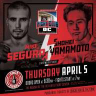 3 MMA & 3 Boxing = Six Solid Bouts for Fight Club OC Apr 5