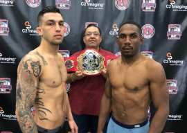 All Fighters Made Weight For April 4th Fight Club OC Show