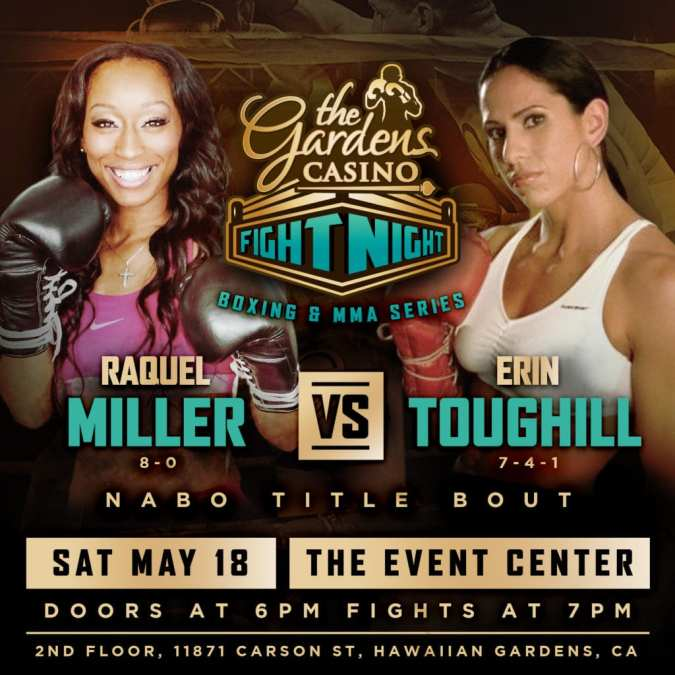NABO Title Fight Plus 9-0 Jonathan Esquivel Returns May 18th