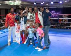 Raquel Miller Beats Erin Toughill for vacant NABF Strap