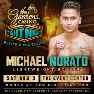 The Gardens Casino Fight Night Aug 3rd Show Set To Bring The Heat!