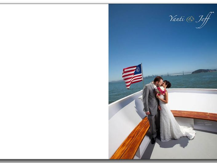 San Francisco Bay Alameda Yacht wedding