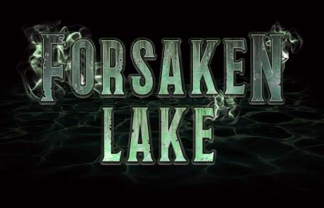Forsaken Lake (Black Background) 2018
