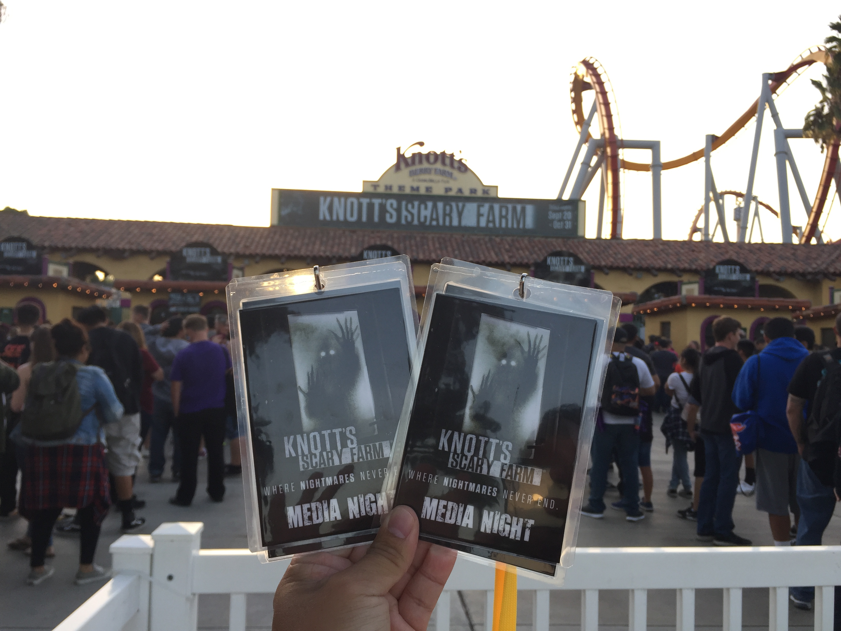SoCal Attractions 360 – Knott\'s Scary Farm 2018: Opening Night! Trip ...