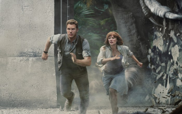 Jurassic World--The Ride with Chris Pratt-Bryce Dallas Howard image