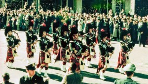 why bagpipes at a funeral