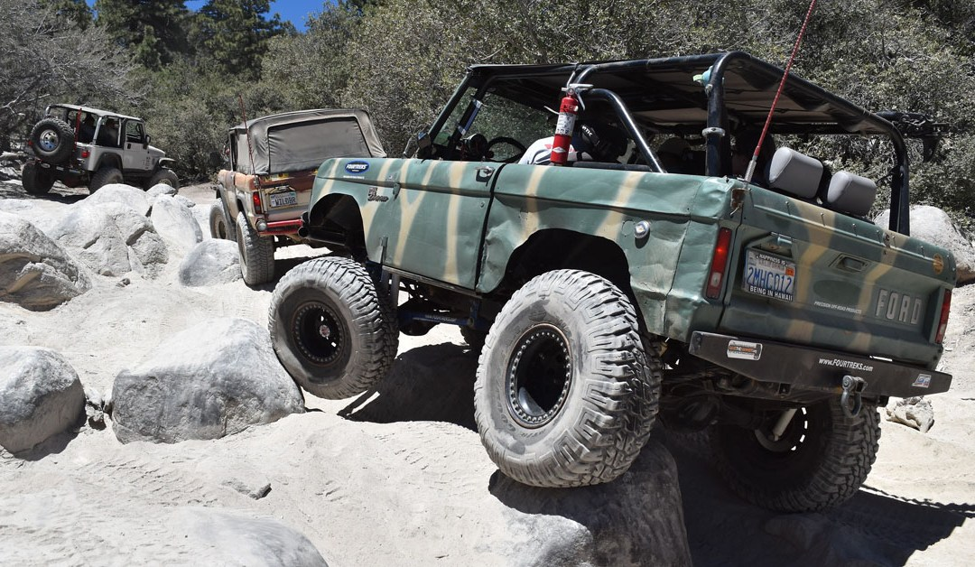 Big Bear Bronco Bash XVI – John Bull Trail – June 2017