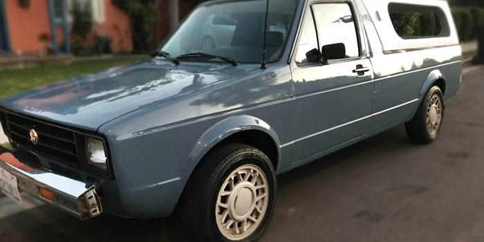 1980 Volkswagen Caddy Pickup – $4650 (Tustin)